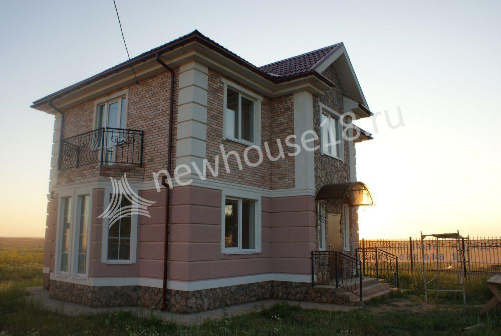 Строительная компания усадьба в городе Ижевск гранитный щебень красный декоративный